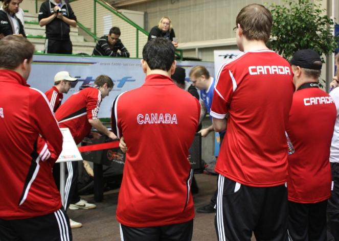 Canada Foosball 10